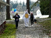 2013 Easter Egg Hunt, Newcastle Island