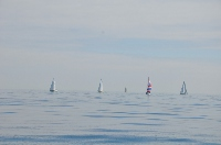 Single Handed Series 2013: September Weekend Race : Story of 2013: Light Winds Prevail!