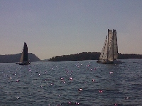 Single Handed Series 2014: Single Handed Championship: Multis keeping close tabs on each other early in the race